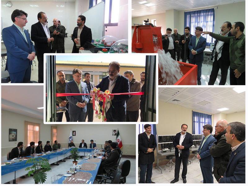 افتتاح چهار آزمایشگاه تخصصی دانشگاه توسط نماینده محترم مردم دامغان