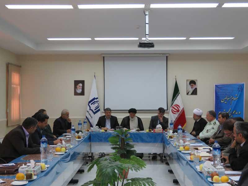 نشست شورای فرهنگ عمومی شهرستان در دانشگاه دامغان برگزار شد